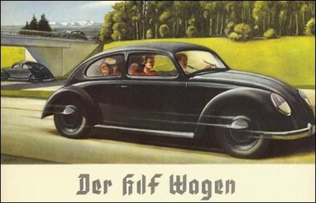 Strength Through Joy VW Beetle