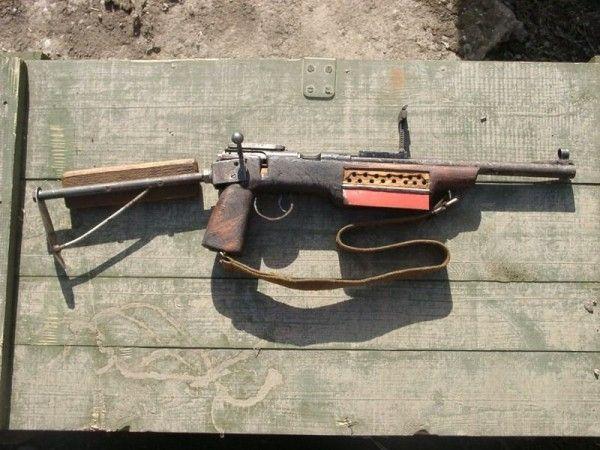 Homemade rifle weapon