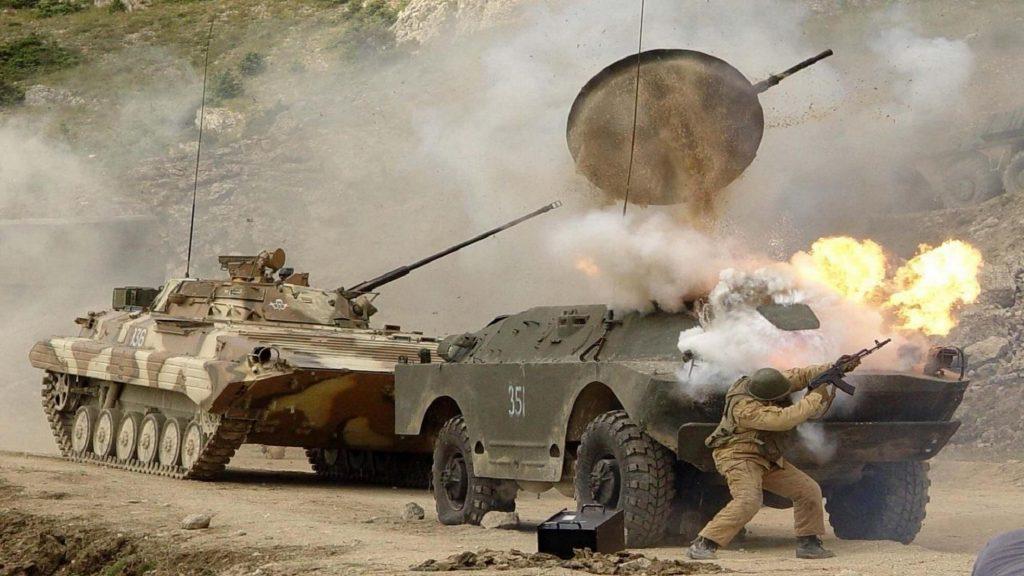 Chechnya combat photo