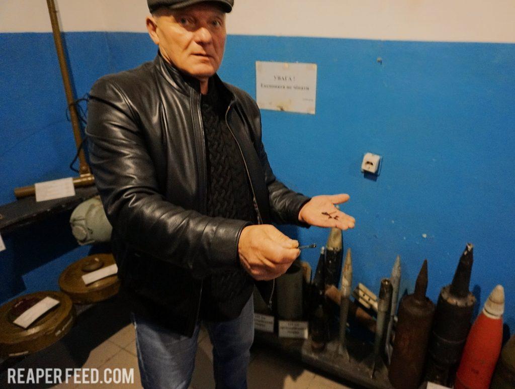 Flechette rounds used in the Ukraine Civil War