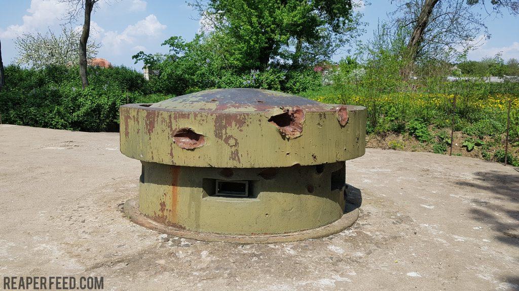 Stalin line bunker battle damage