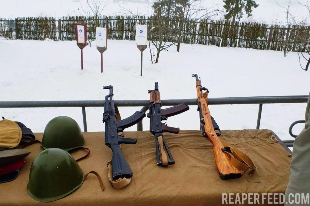 Mosin Nagants and Kalashnikovs