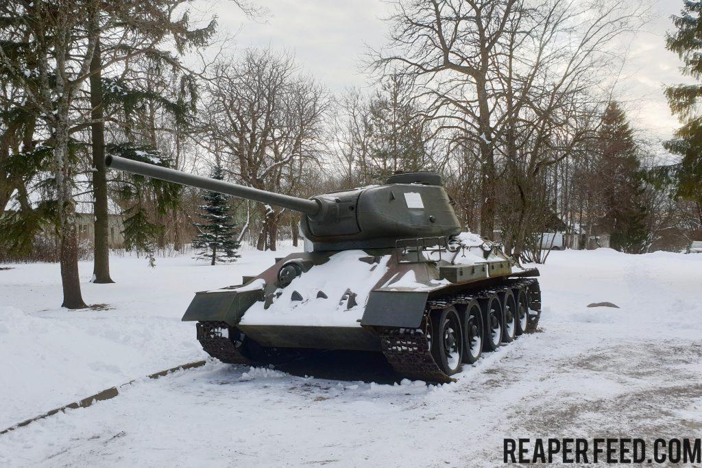 Drive a T34 Kiev