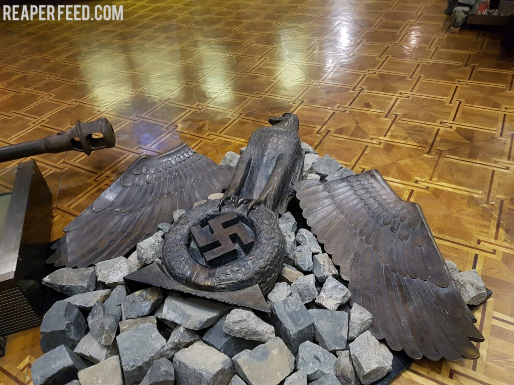 Eagle from the Reich Chancellory, Ukraine.