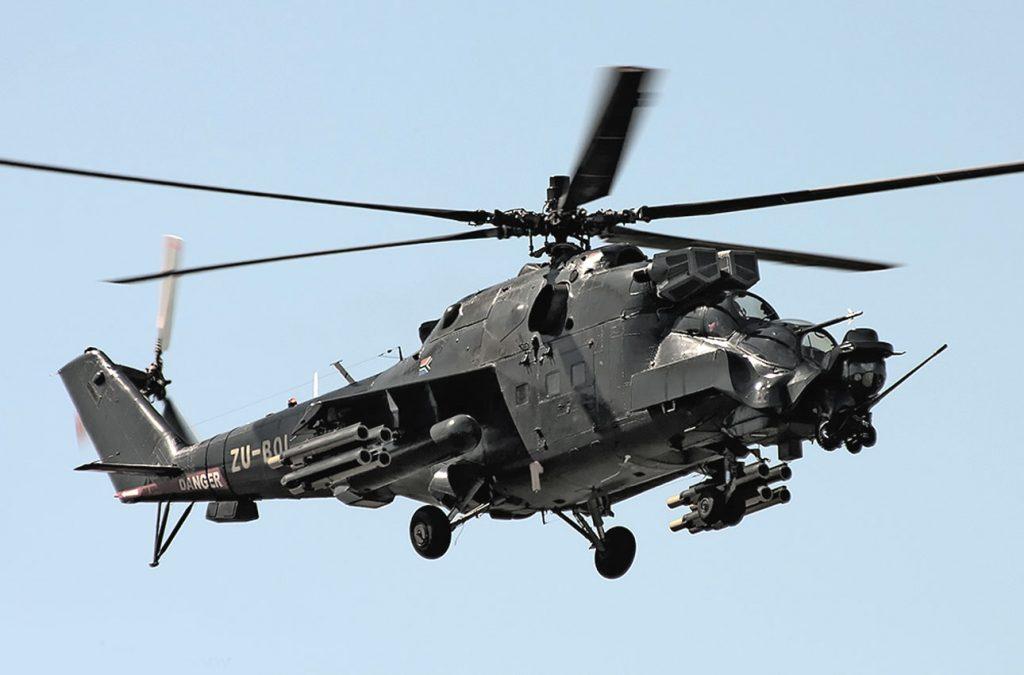 Superhind Mi-24 Helicopter Gunship