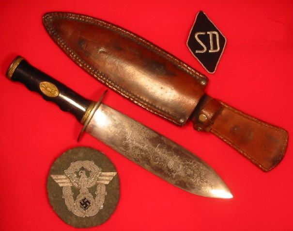 The SS Ceremonial Dagger