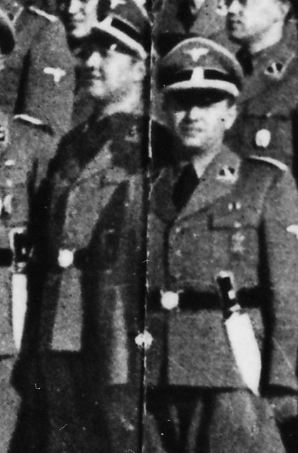 The SS colonial police graduation