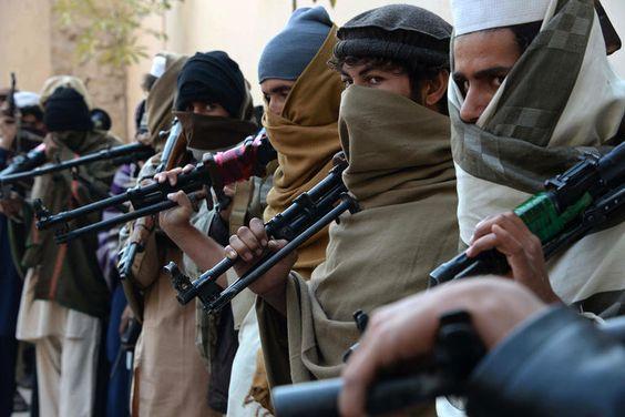 Taliban at war