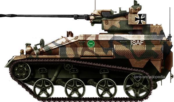 Wiesel tank