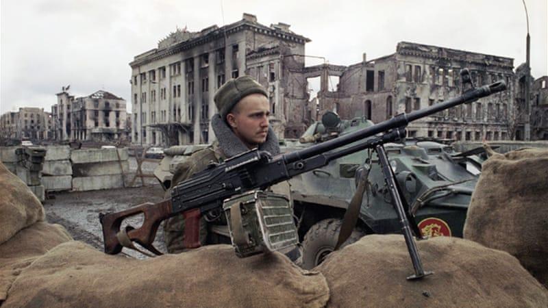 Chechnya checkpoint