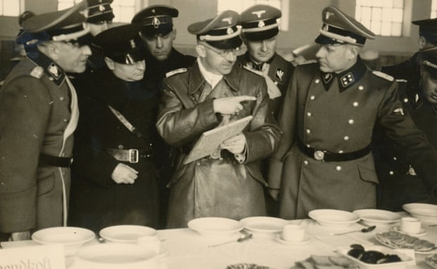 Himmler at Allach Factory