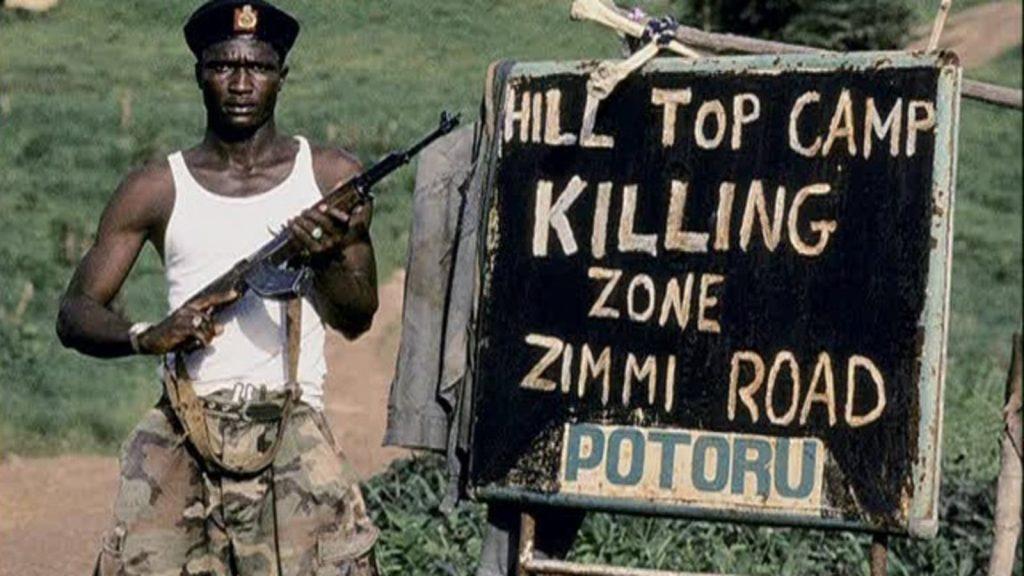 Soldier Liberian Civil War