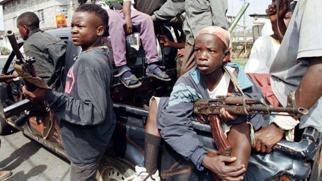 Child soldiers Charles Taylor Liberian Civil War