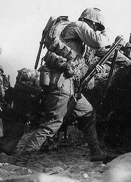 Trench gun in WW2