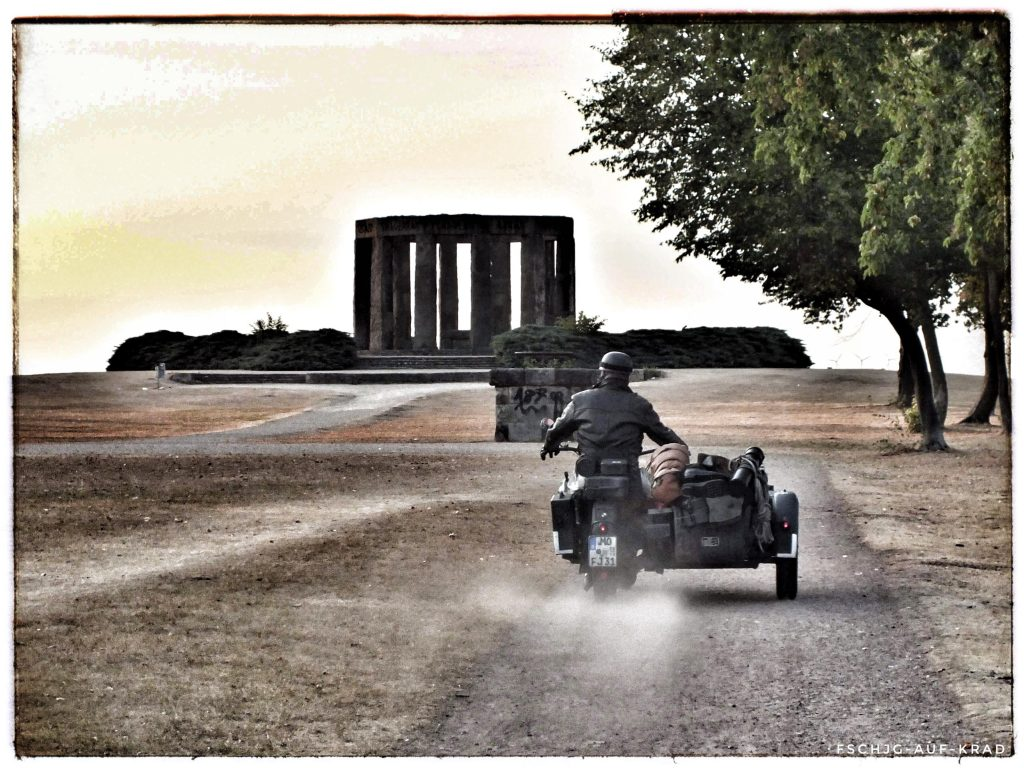WW2 BMW vintage Motorbike