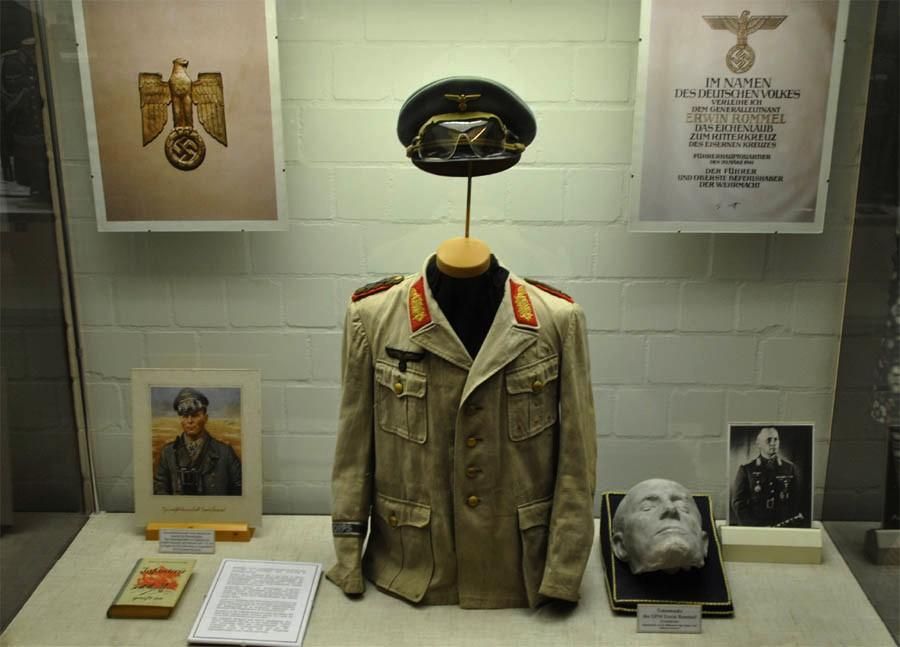 Erwin Rommels Desrt fox commanders jacket