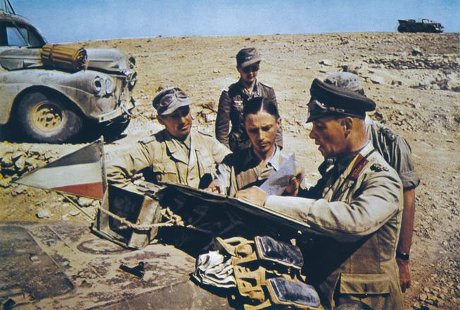 Desert Fox Commanders Jacket