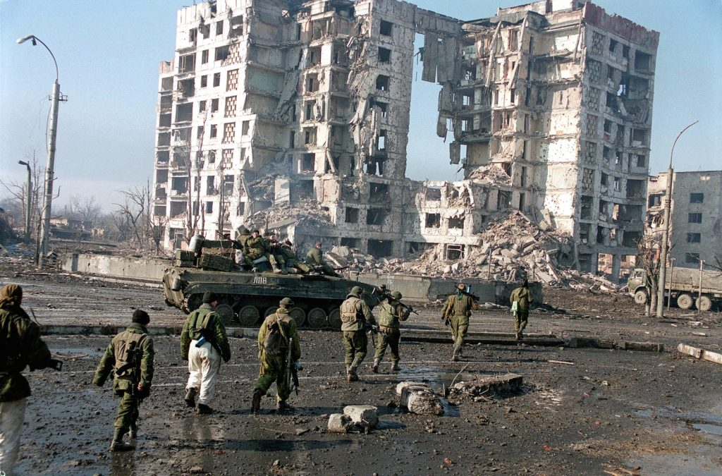 danger in chechnya