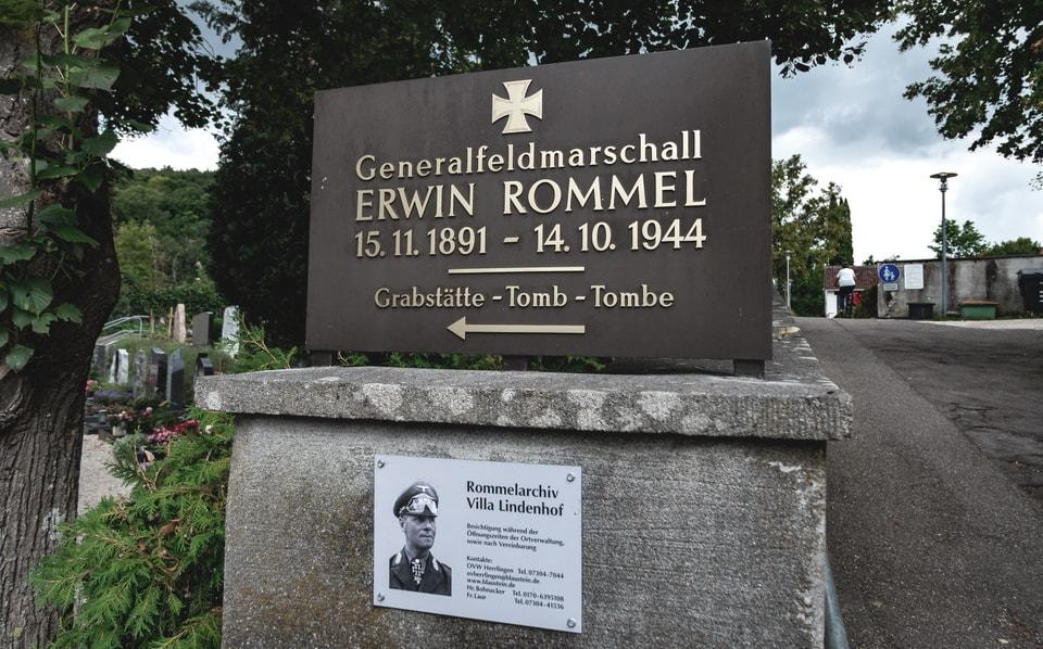 Erwin Rommel's Grave desert fox
