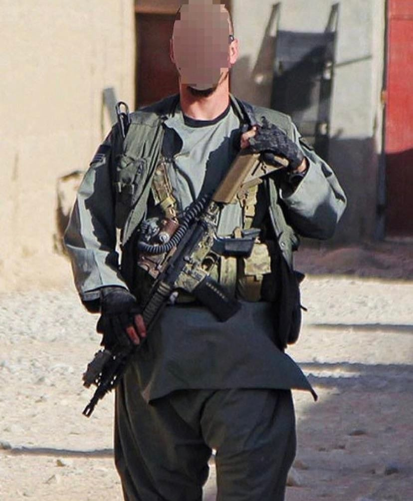 Undercover clothing CIA in Afghanistan