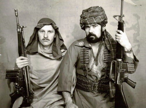 Undercover clothing KGB in Afghanistan