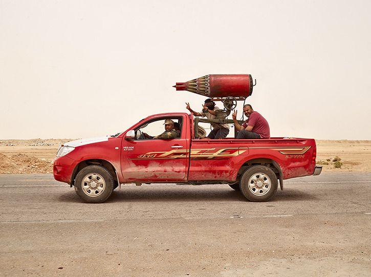 Toyota War Improvised fighting vehicle