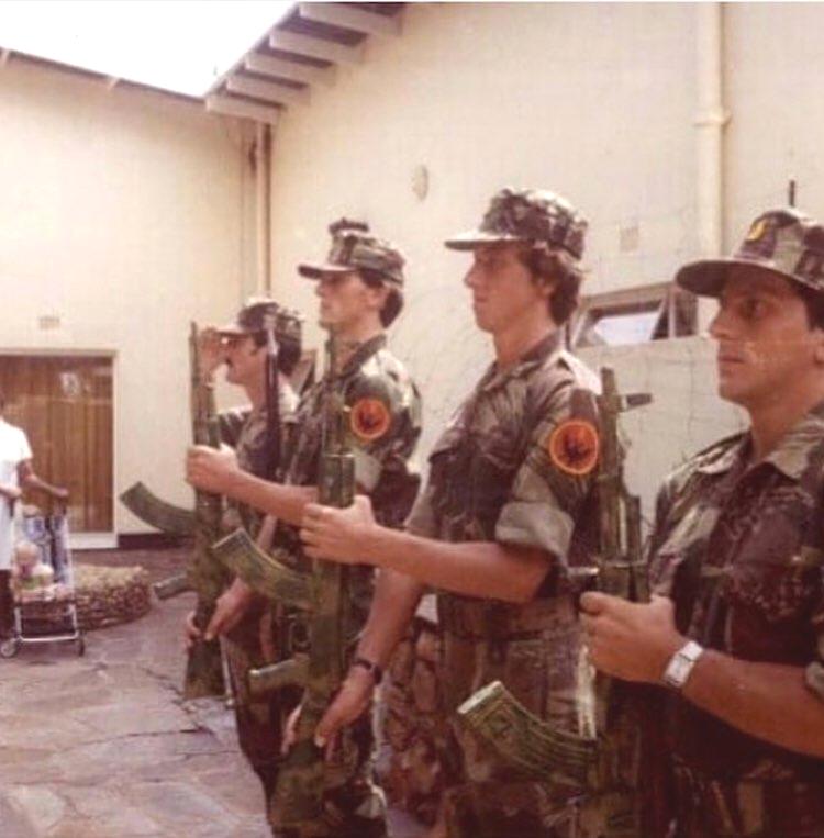 Albanians in Rhodesia Bush War