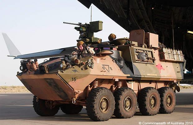Aussie fighting vehicles