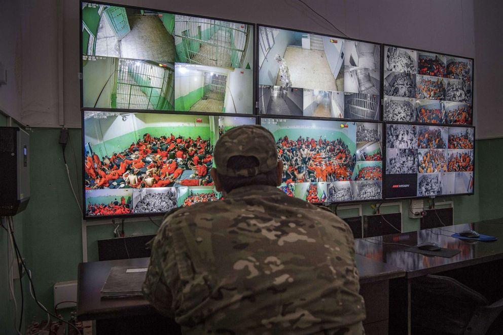 Prison break ISIS jail