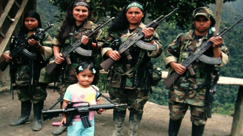 FARC Women black hawk helicopter