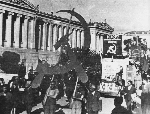 Communist greek civil war