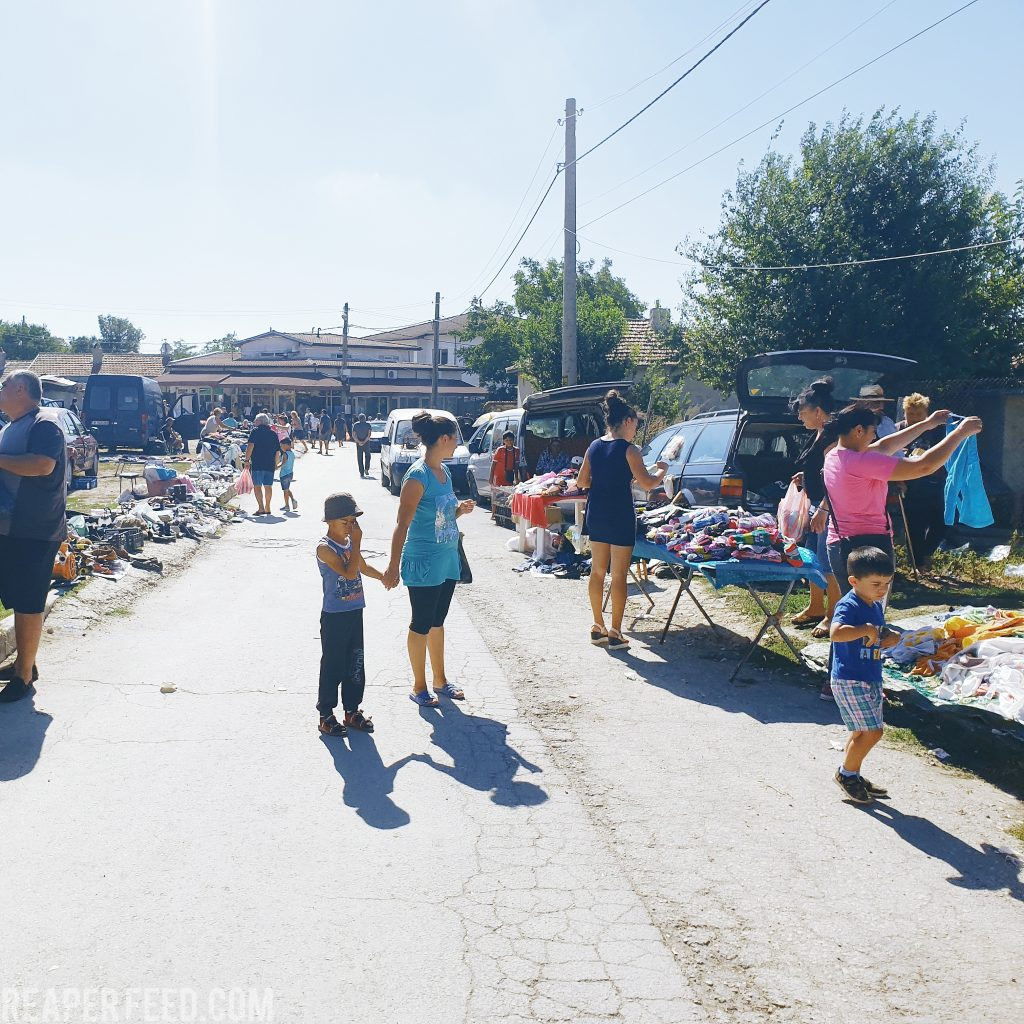 Flea Market in Bulgaria