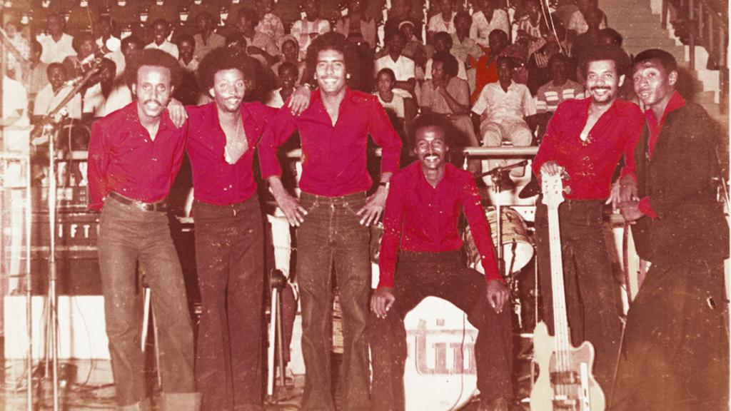 The Dur Dur band in Mogadishu.