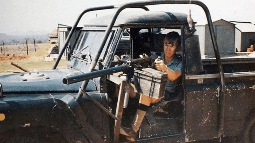 FAL Barrel Rhodesian brushstroke camo anti ambush weapons