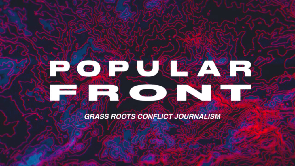 Popular front logo popular military podcasts