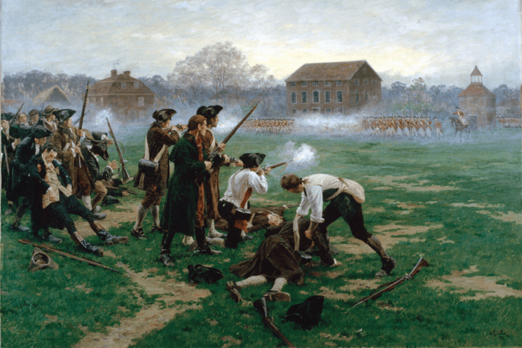The US Revolutionary War Started At This Battle Site
