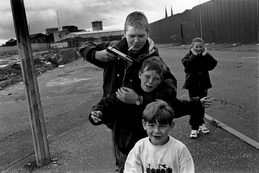 The Unionist Belfast Street From The Troubles - Shankill Road Photos