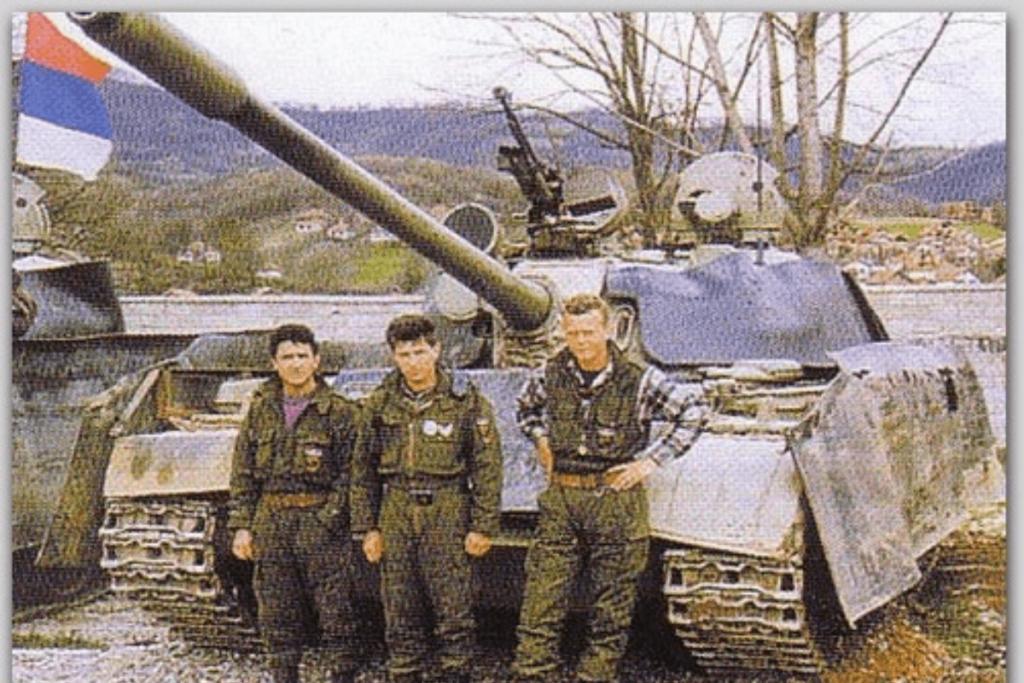 The Mad Max Vehicles of the Serbian Garda Panteri
