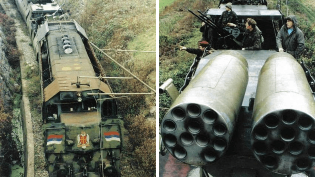 The Gripping Story of the Heavily Armed Serbian Krajina Express