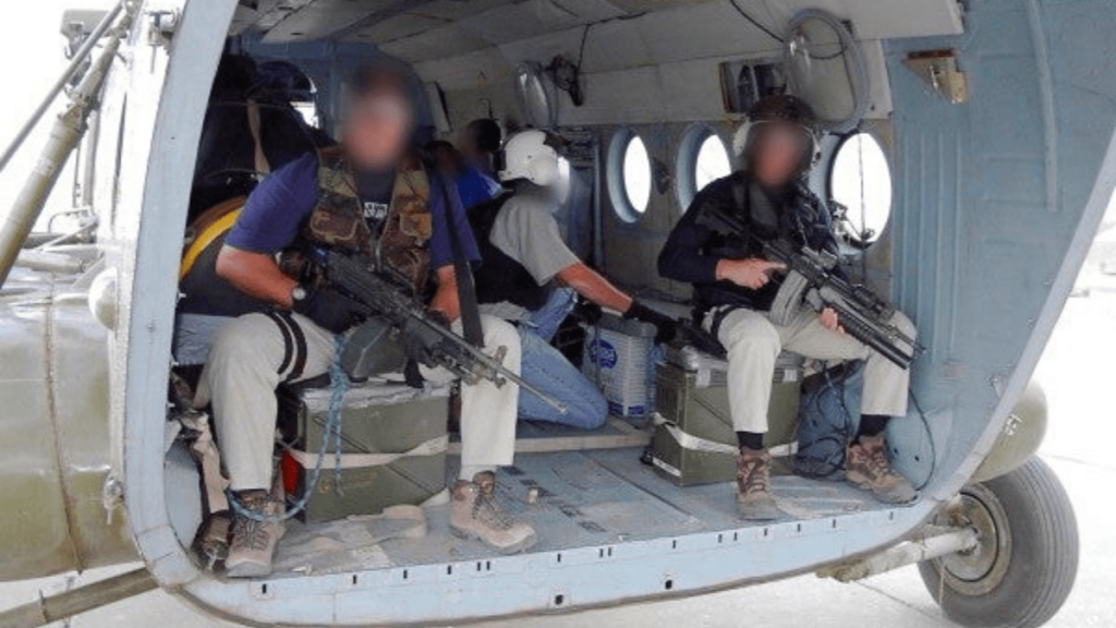 Air Force Aerial Gunner Death Rate Shreds ISIS Technical From Mi-17